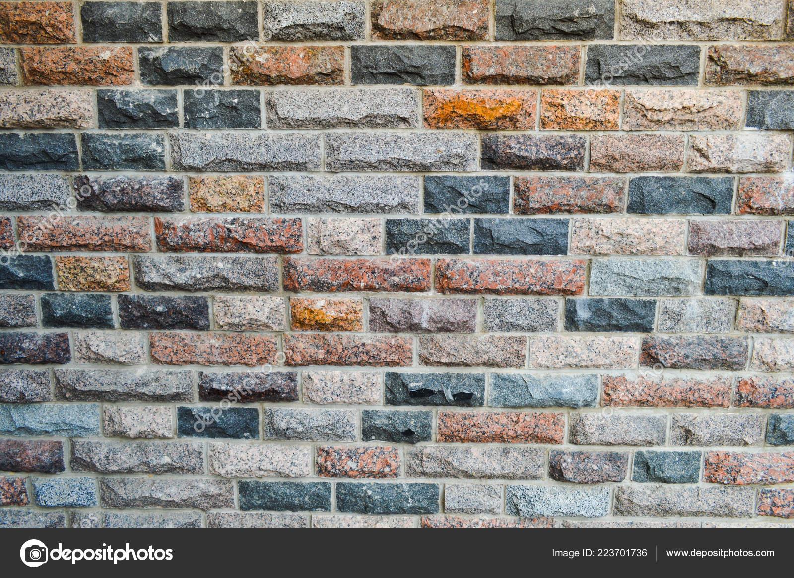 Texture di belli multi colori rettangolari mattoni piastrelle da