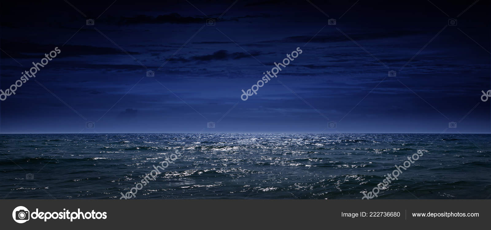 Foto Sfondi Notte Mare Mare Notte Oceano Come Sfondo Naturale