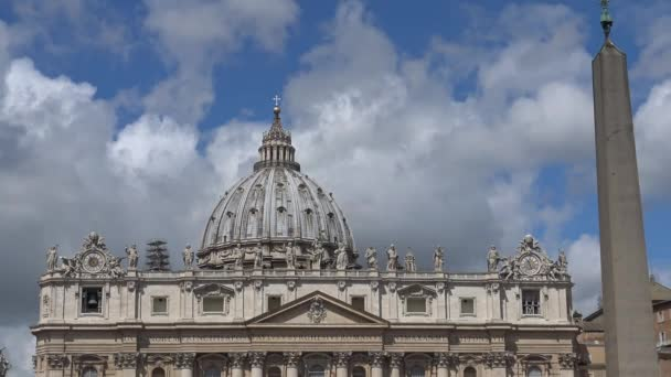 Rome, large dome of St. Peters Basilica.