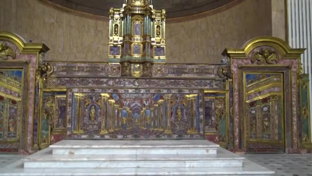 Naples, royal palace, ceilings and interior rooms