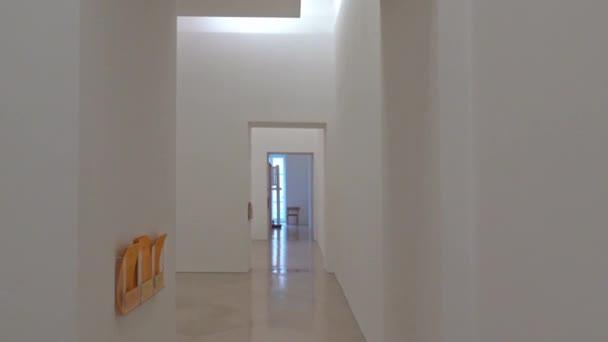 Italy, Naples, museum M.A.D.R.E. contemporary art exhibition