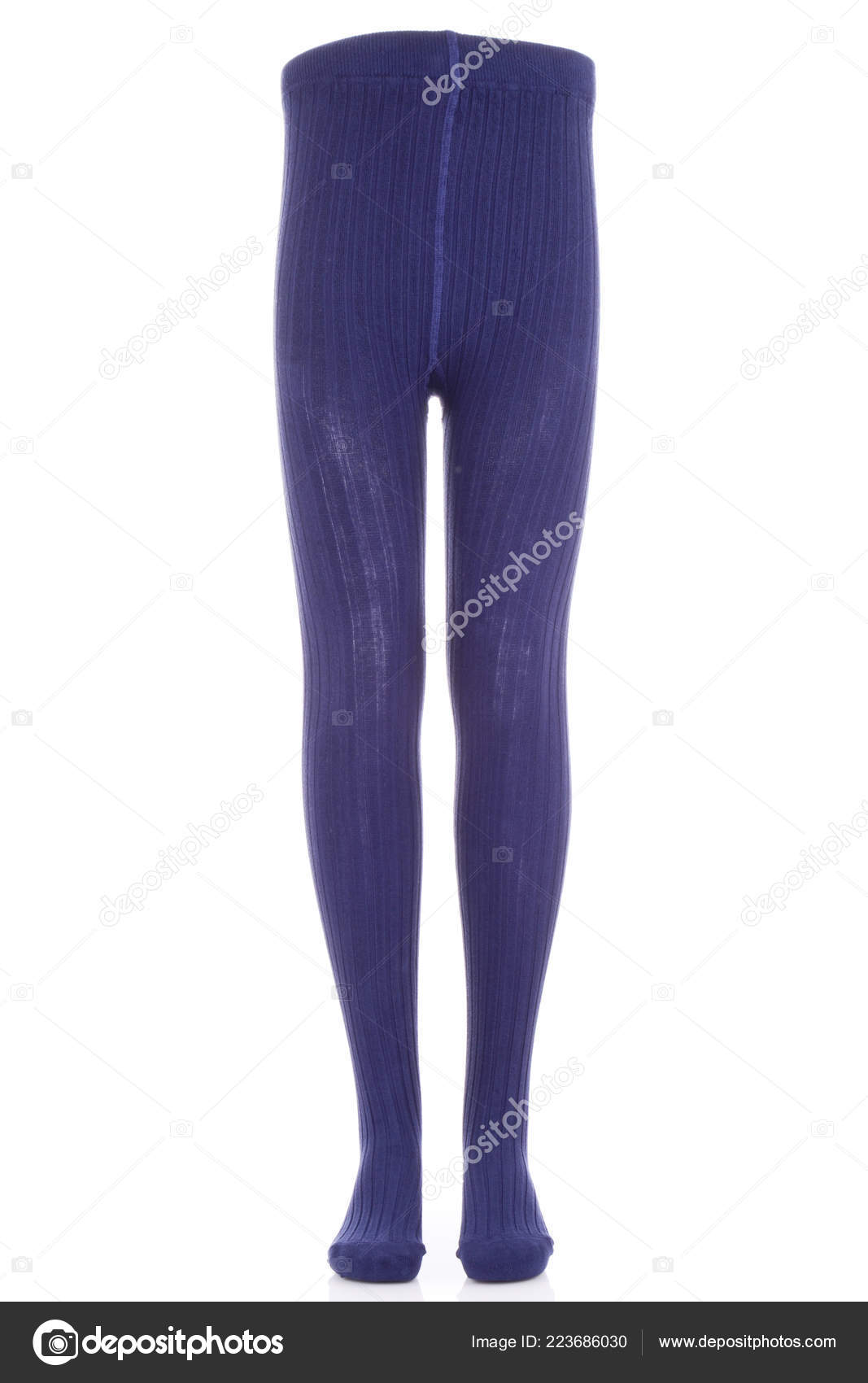 60b1e22deb35e Children Tights Pantyhose Baby Products Dark Blue Tights– stock image