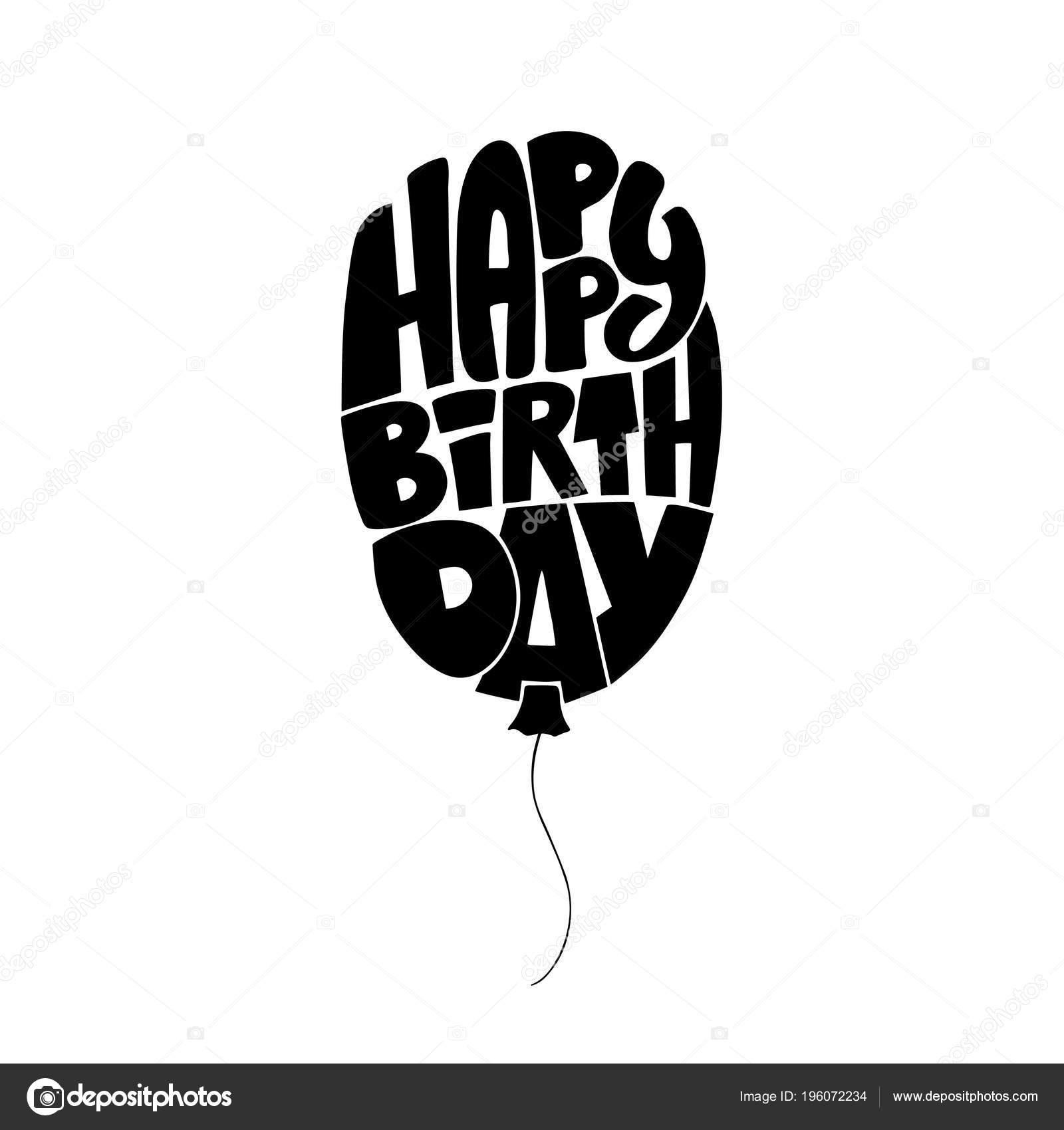 vtipné pohlednice k narozeninám Rukopisné vtipné pohlednice k narozeninám v podobě balónu  vtipné pohlednice k narozeninám