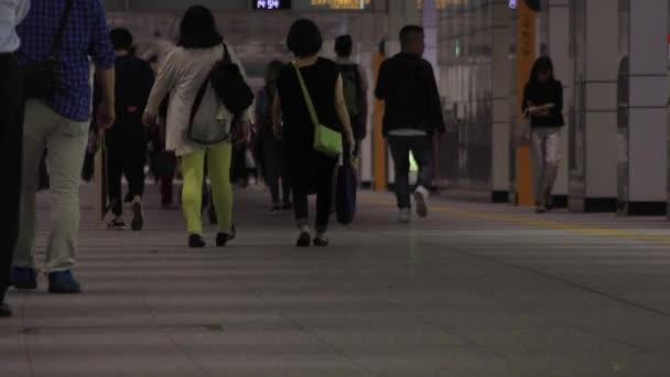 Shinjuku-ku Shinjuku Tokyo / Japan - 10.14.2018 : Its walking people in the business town. camera : Canon EOS 5D mark4