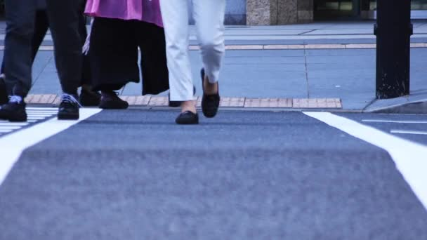 Chiyoda-ku Ootemachi Tokyo / Japan - 10.04.2018 : Its a walking people in the business town. camera : Canon EOS 5D mark4