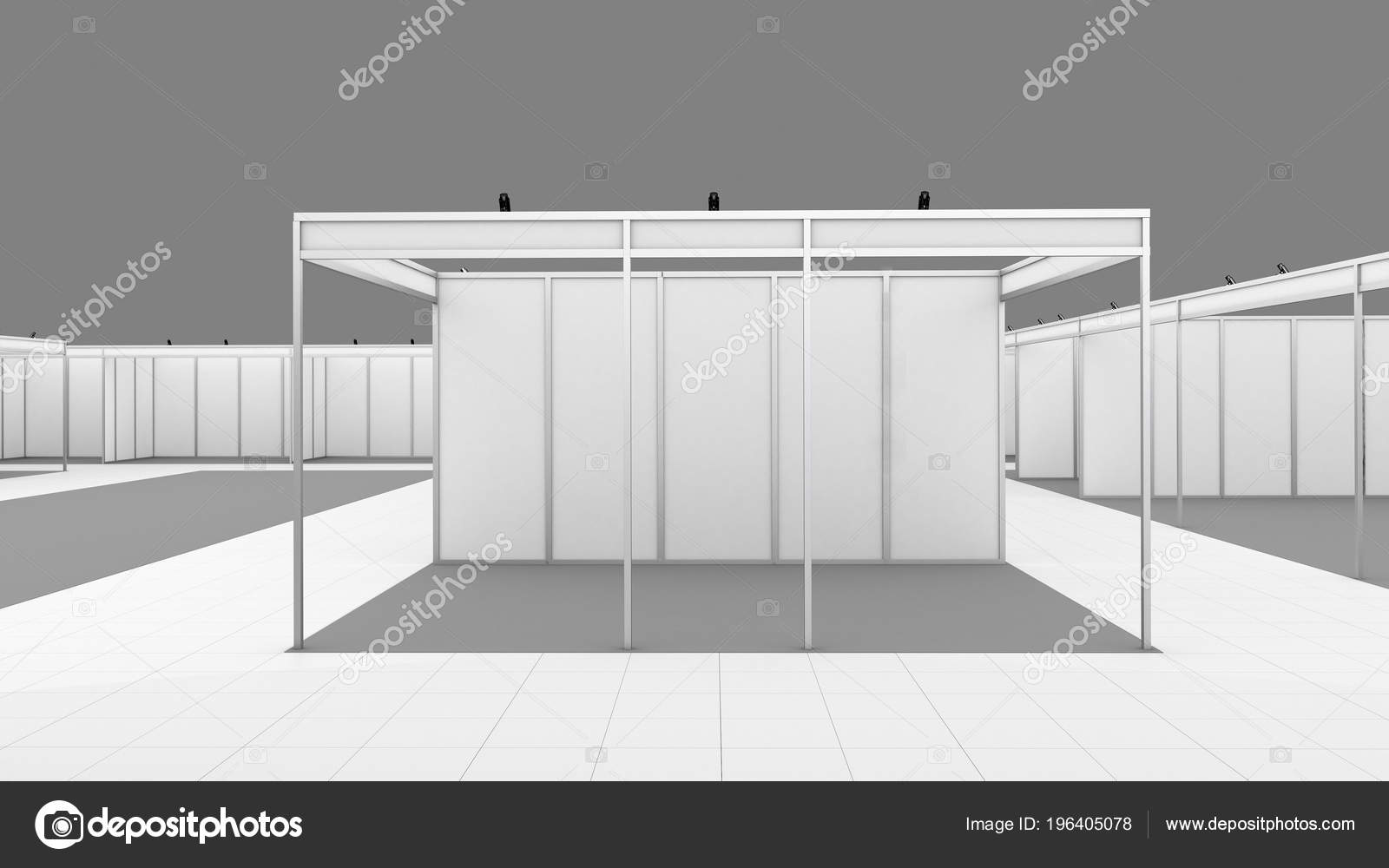 Exhibition Booth Mockup Free Download : Blank white trade exhibition booth system stand mockup u stock