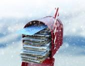 Weihnachtsmann-Briefkasten