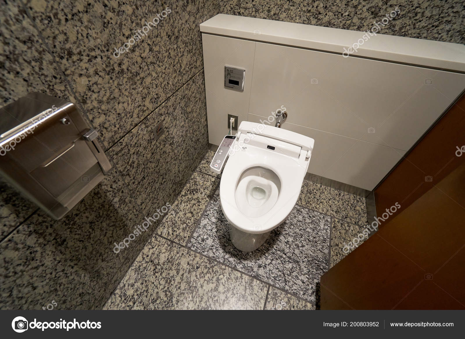 Modern Toilettes High Tech Avec Bidet Electronique Japon Leaders