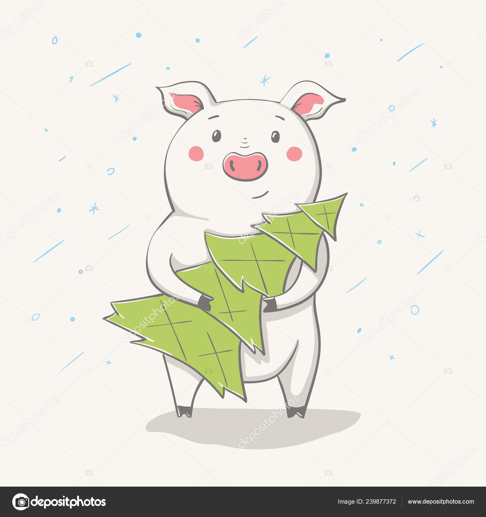 Lovely Cute Cheerful Piggy Christmas Tree Card Cartoon Animal Easy Stock Vector C Nychytalyuk 239877372 Make charming christmas video greetings and congratulate your dear this year ones with a unique christmas video made with renderforest video maker. lovely cute cheerful piggy christmas tree card cartoon animal easy stock vector c nychytalyuk 239877372