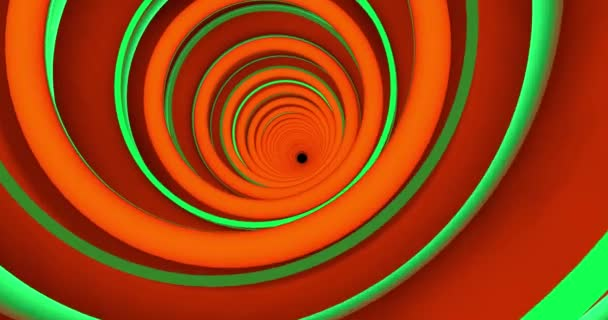 A colorful abstract backdrop of a spiral tunnel.