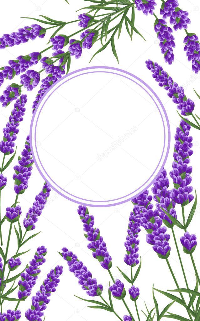 Background Of Purple Lavender Flowers Watercolor Style Flowers Elegant Flowers Vector Backgroun Premium Vector In Adobe Illustrator Ai Ai Format Encapsulated Postscript Eps Eps Format
