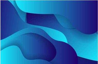 Colorful geometric background. Fluid shapes composition. Eps10 . vector illustration
