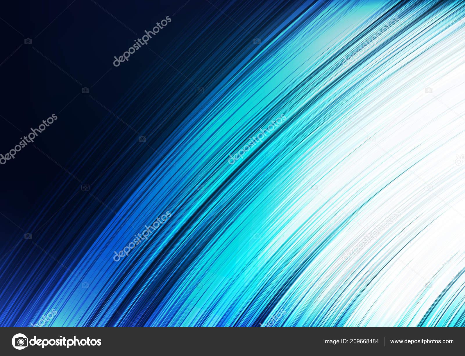 Kurve Light Blue Abstract Background Line Und Schnelle