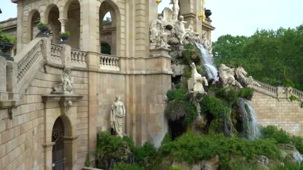 Barcelona, Spain - May 9, 2018 - View at the Parc de la Ciutadella