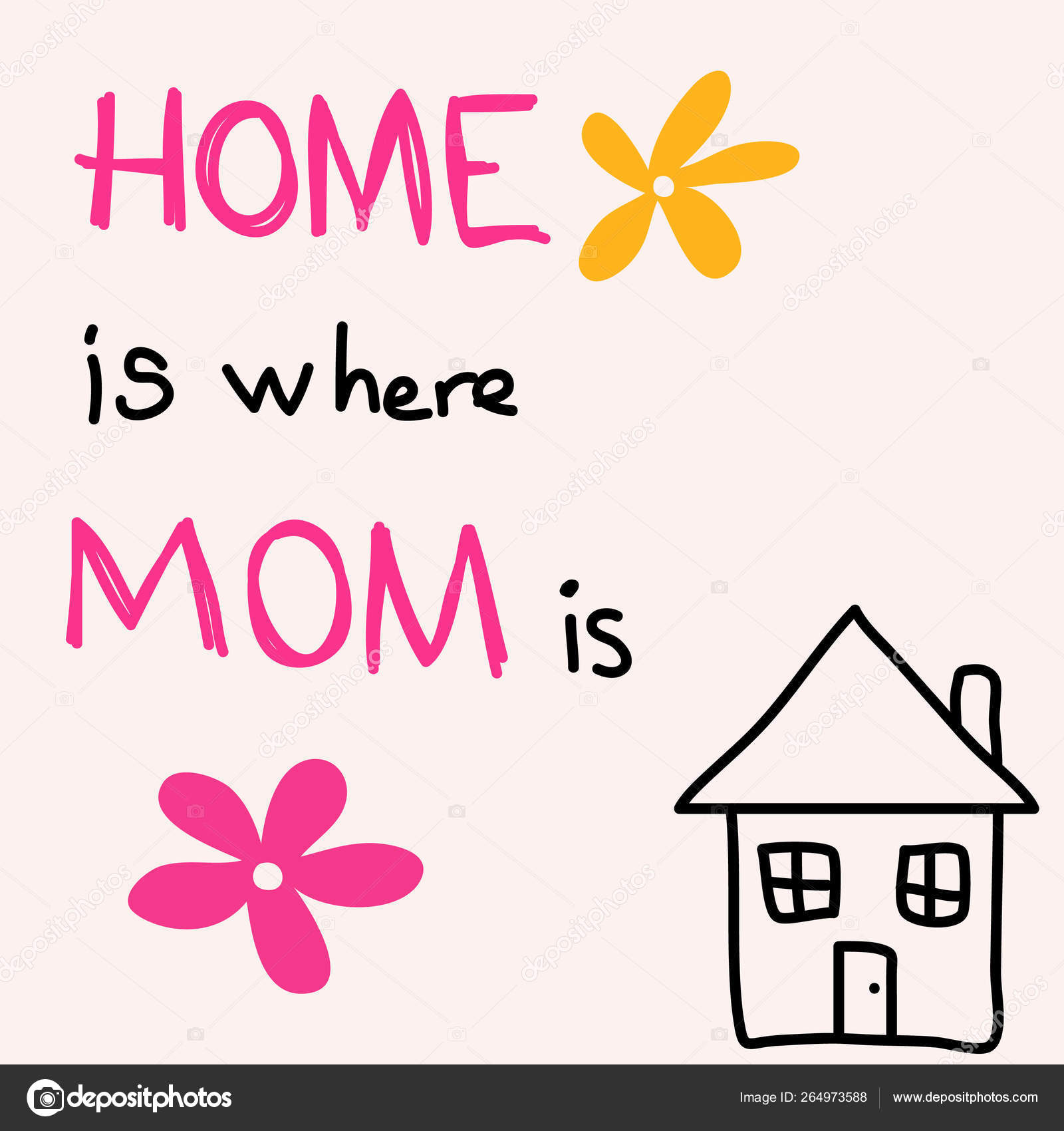 вариант дом там где мама открытка находившиеся