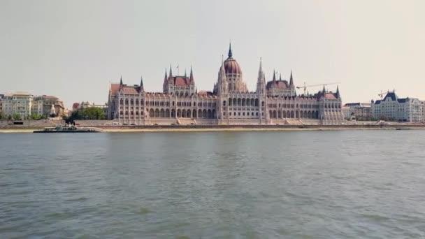 Budapest, Magyarország - 8 augusztus, 2018: A Parlament, Budapest (Magyar Orszghz) egy palota, Budapest, szimbólum és a magyar Országgyűlés székhelye