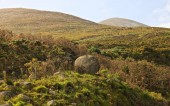 Photo Scenic view of Mourne Mountains, near Newcastle, Northern Ireland
