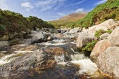 Photo Bloody Bridge river in Mourne Mountains, Newcastle, Northern Ireland