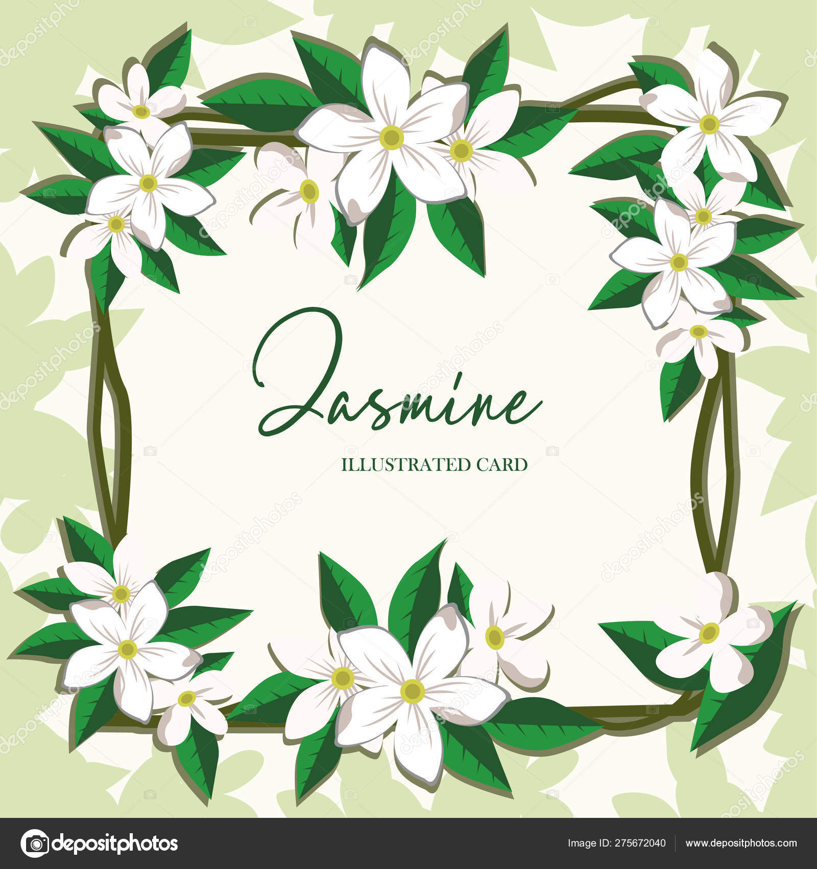 Vector Jasmine Flowers Horizontal Banner Design For Tea Natural Cosmetics Beauty Store Health Care Products Perfume Essential Oil Aromatherapy Can Be Used As Greeting Card Wedding Invitation Stock Vector C Yaroslavna2408 275672040