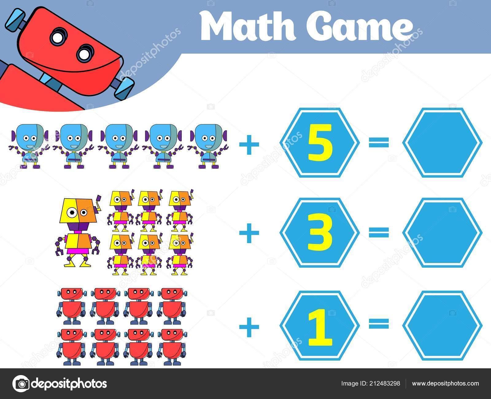 Cocuklar Icin Matematik Egitici Bir Oyun Cikarma Calisma Sayfasi