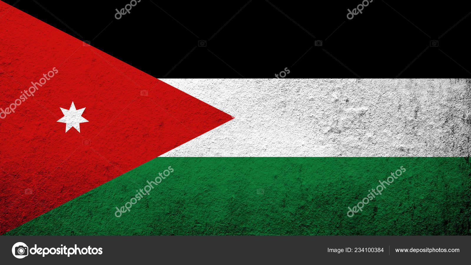 Jordan Flag Wallpaper Hashemite Kingdom Jordan National