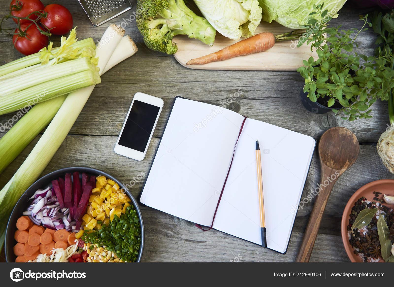 recipe template recipe book spice onion garlic tomatoes greens gray