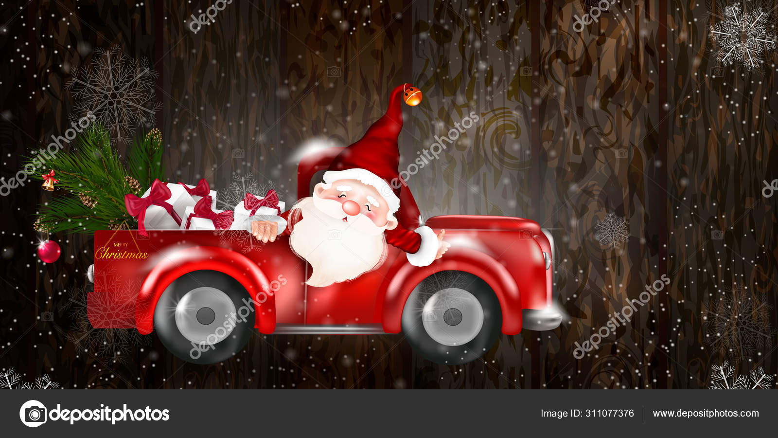 depositphotos 311077376 stock illustration merry christmas happy new year