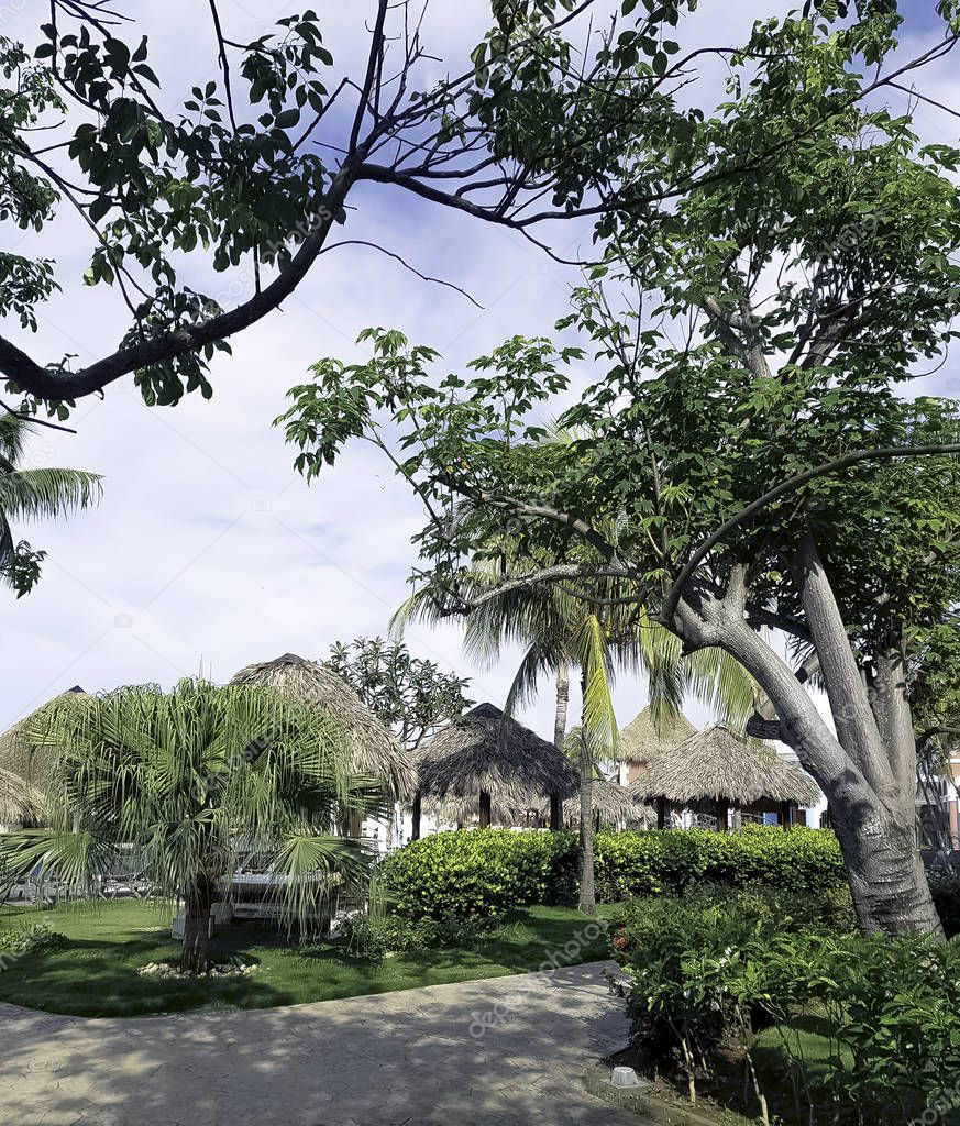 Summer in an exclusive resort in Varadero, Cuba on 31 May 2018