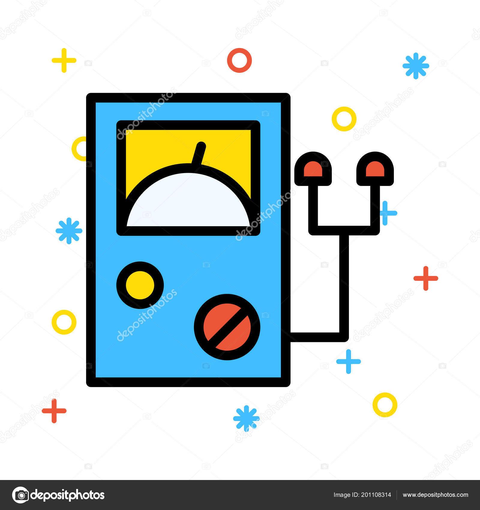 blue converter settings levers white background colourful symbols