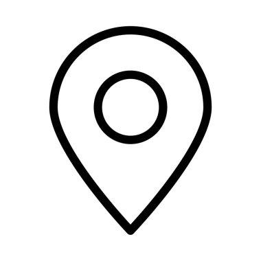 map pin icon vector illustration