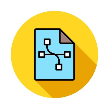 connection icon vector illustration
