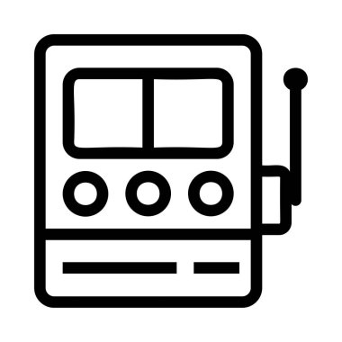 radio icon vector illustration