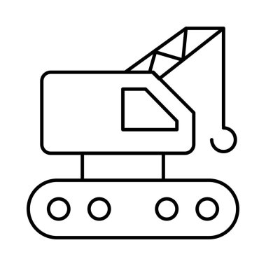 machinery  web icon vector illustration