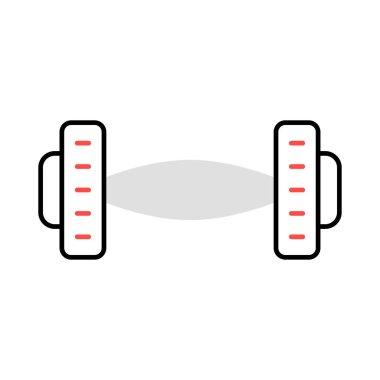 Sports color vector icon