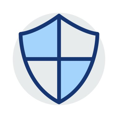 shield   secure   protection    vector illustration