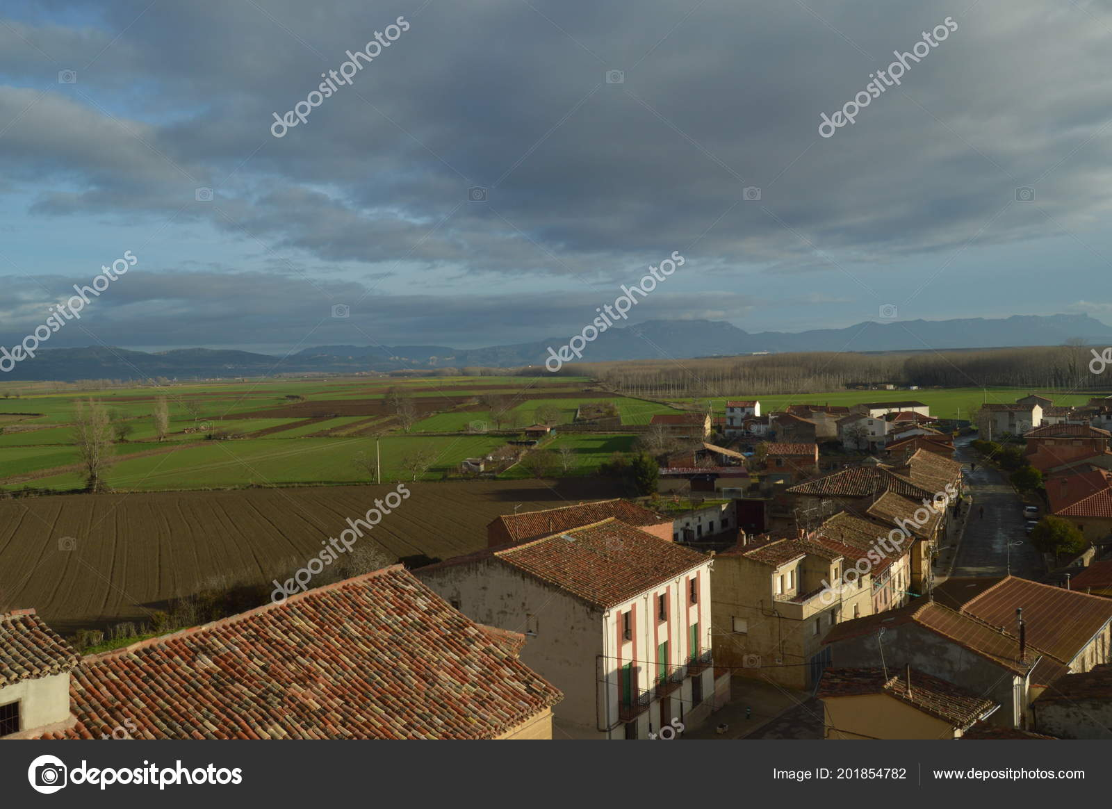Views Rioja Baths Village Its Beautiful Riojan Meadows Spectacular ...