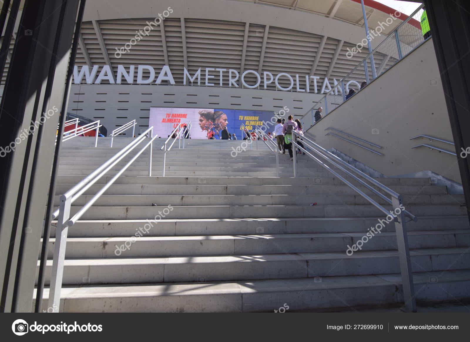 Março 2019 Futebol Feminino Atlético Madrid Futbol Club Barcelona World Fotografia De Stock Editorial Raullhb 272699910