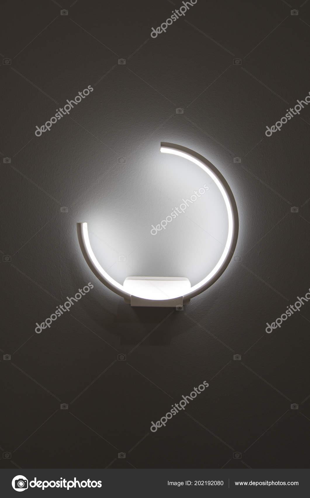 Forme Lumières Sur Idée Mur Créer Lumière Ombre Led Décoration EYHI92WD