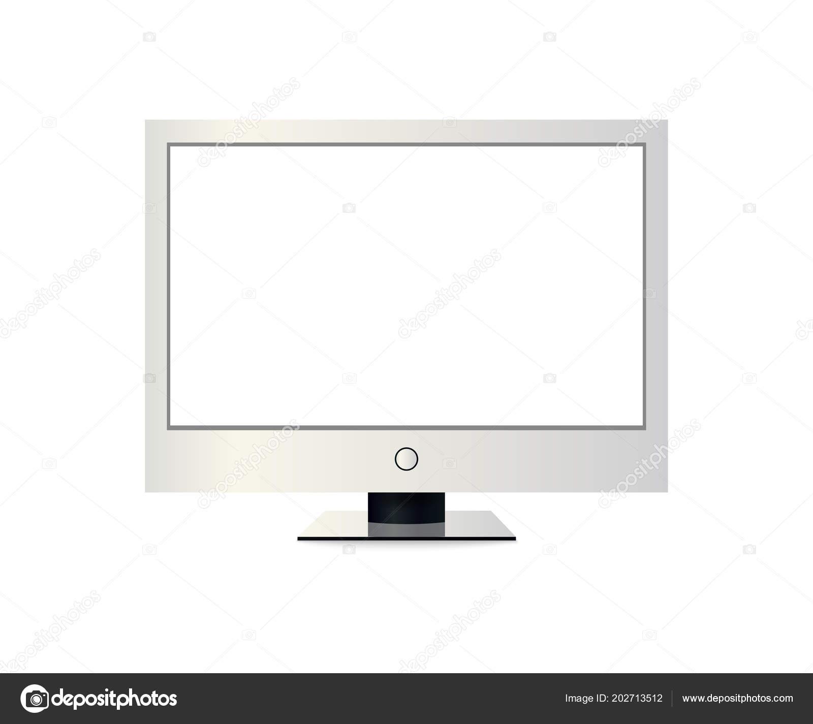 Computer screen as photo frame