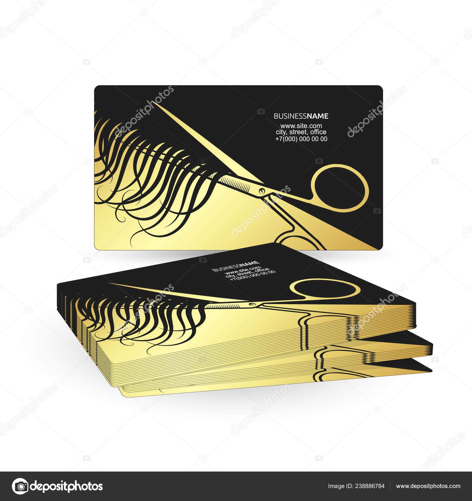 21 Business card for beauty and hair salon 30