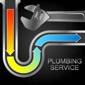Čištění vody a instalatérské klíč