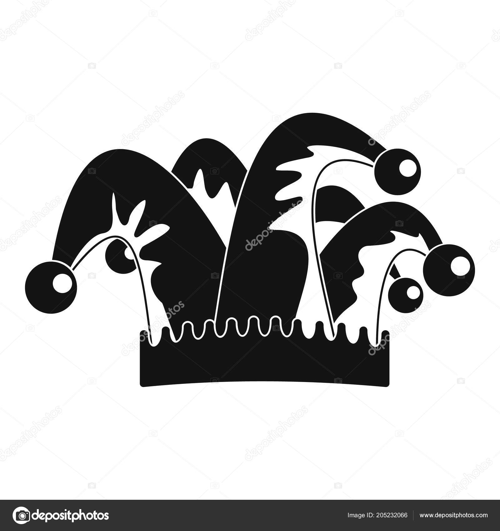 Icono de campana de sombrero de humor. Ilustración simple de icono de vector  de humor sombrero campana para diseño web aislado sobre fondo blanco —  Vector ... db1ad595e39