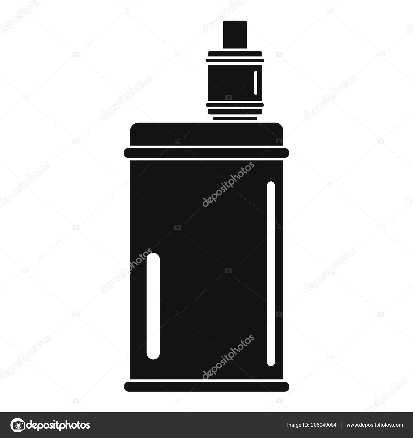 Vape mod icon, simple style — Stock Vector © anatolir #206949084