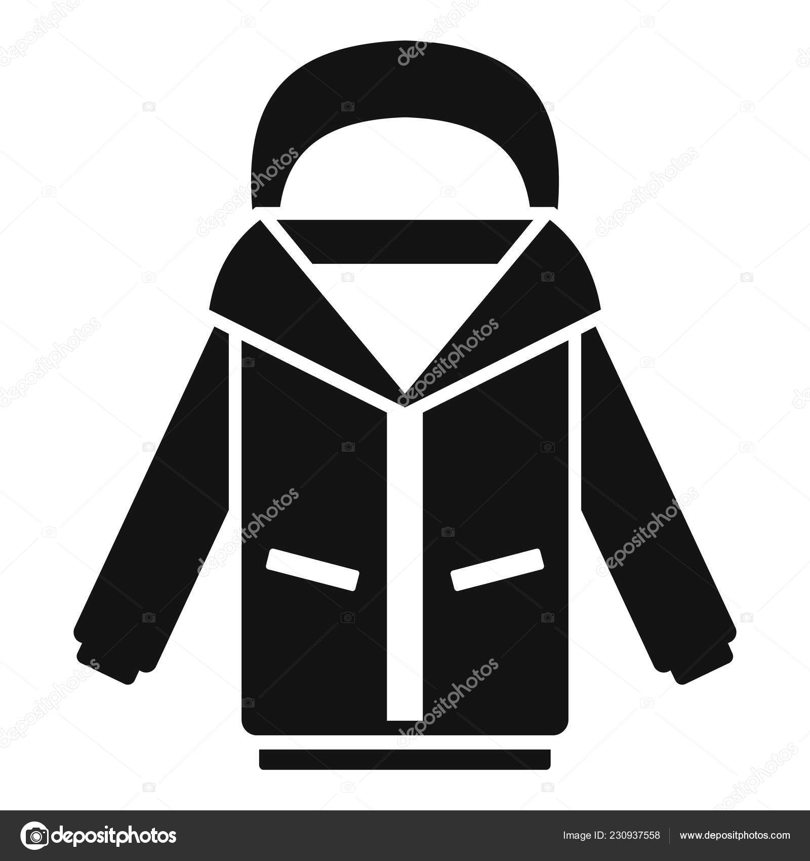 cdaf948bc9b5 Ski jacket icon. Simple illustration of ski jacket vector icon for web  design isolated on white background — Vector by ...