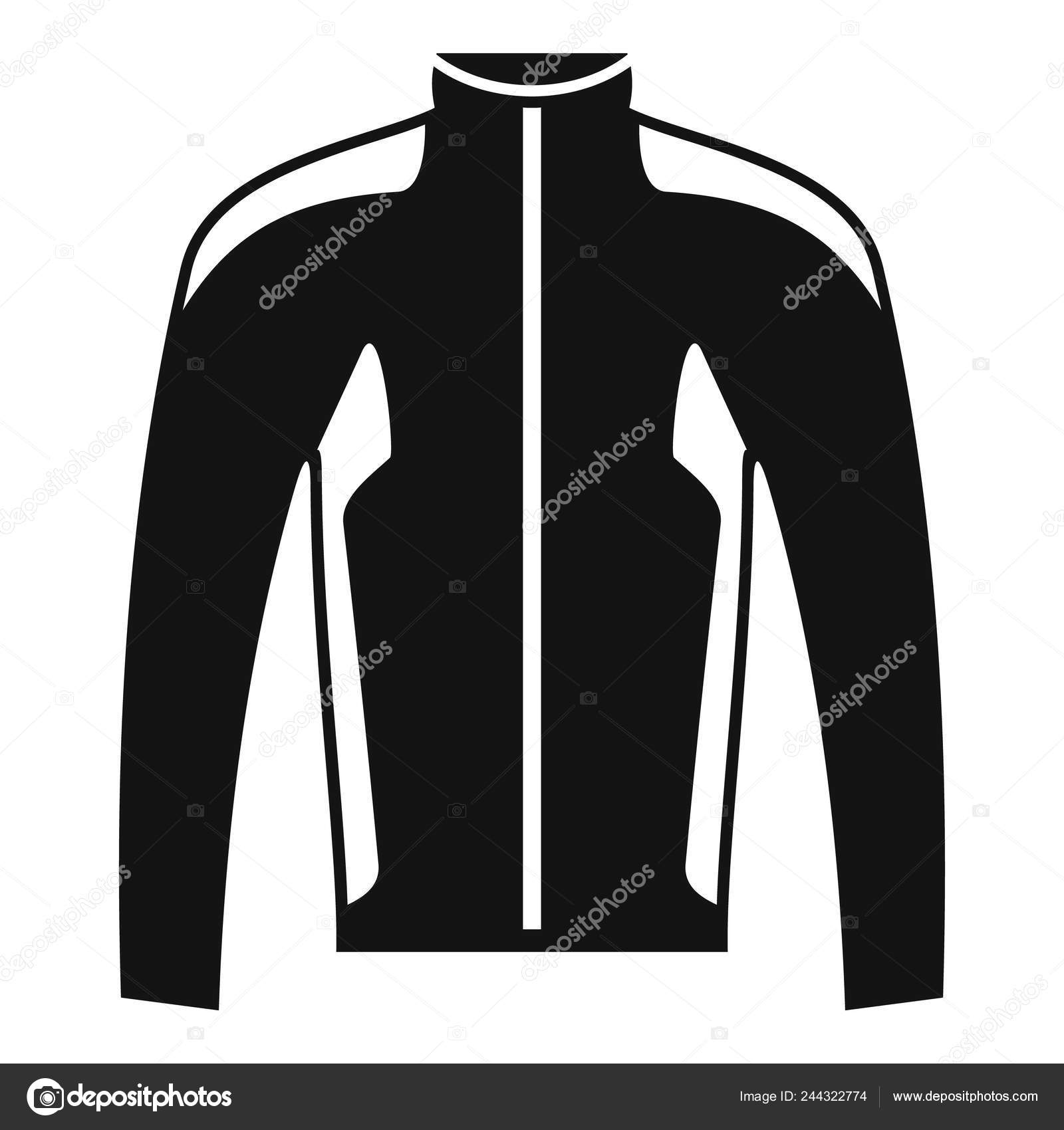 ef69a688579b Bike jacket icon. Simple illustration of bike jacket vector icon for web  design isolated on white background — Vector by ...