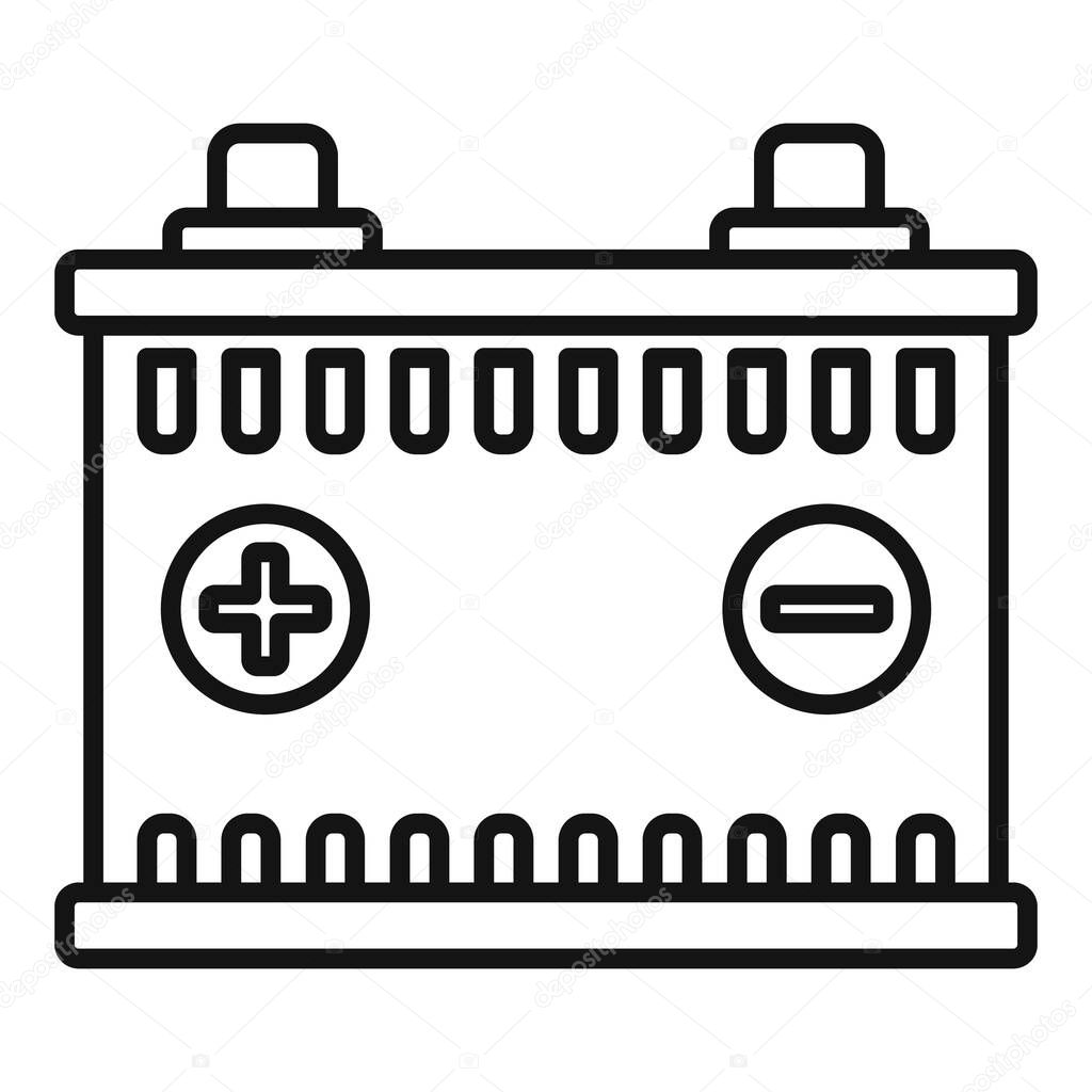 car battery icon outline car battery vector icon for web design isolated on white background premium vector in adobe illustrator ai ai format encapsulated postscript eps eps format car battery icon outline car battery