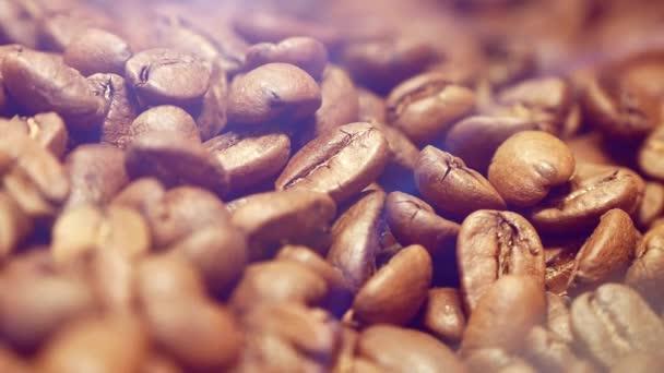 pražená kávová zrna detail