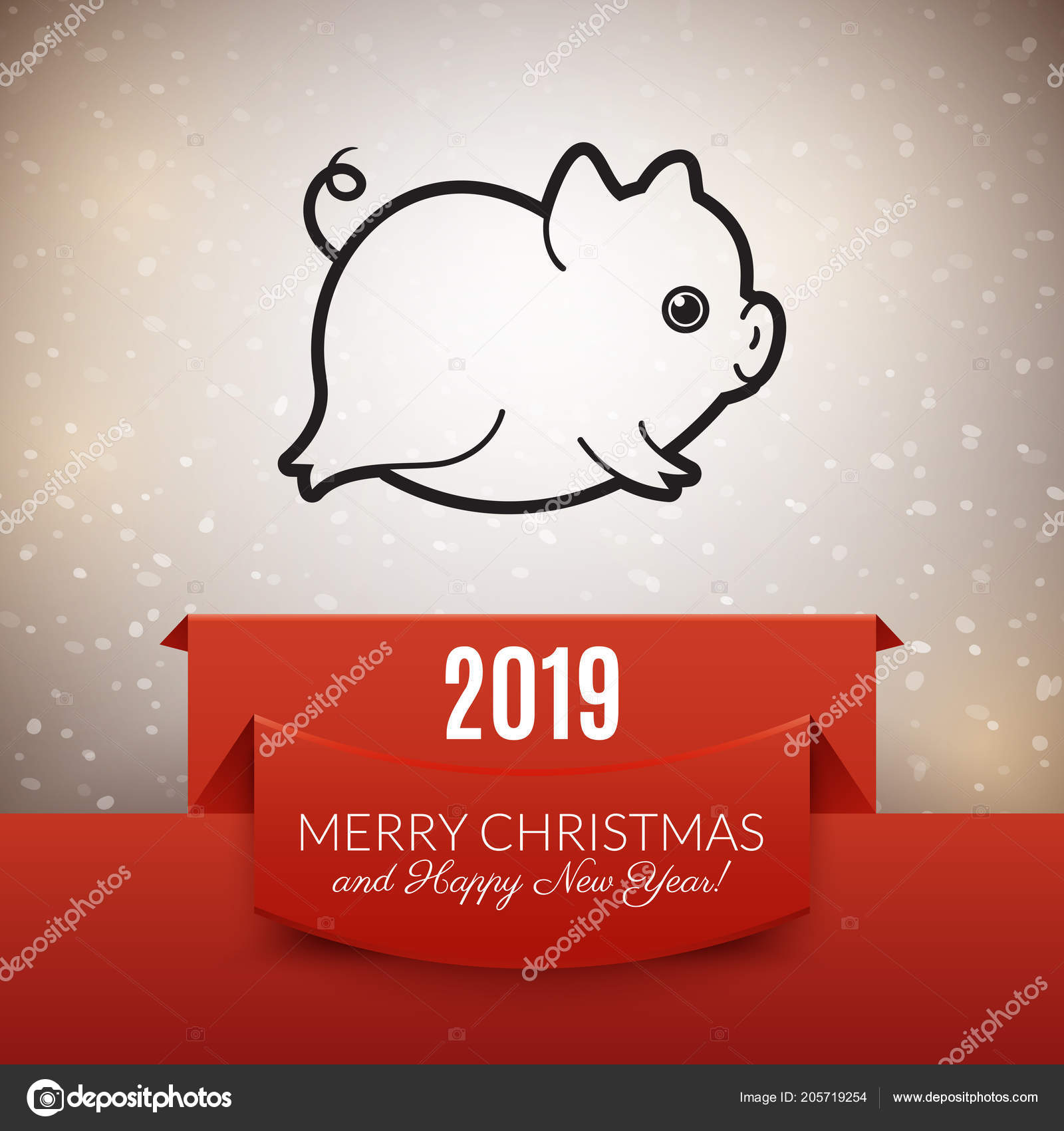 Pig - a symbol of 2019 do it yourself 36