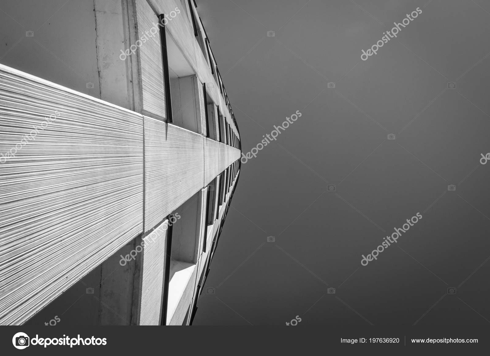 Fotos De Navia perspective moder building navia — stock photo