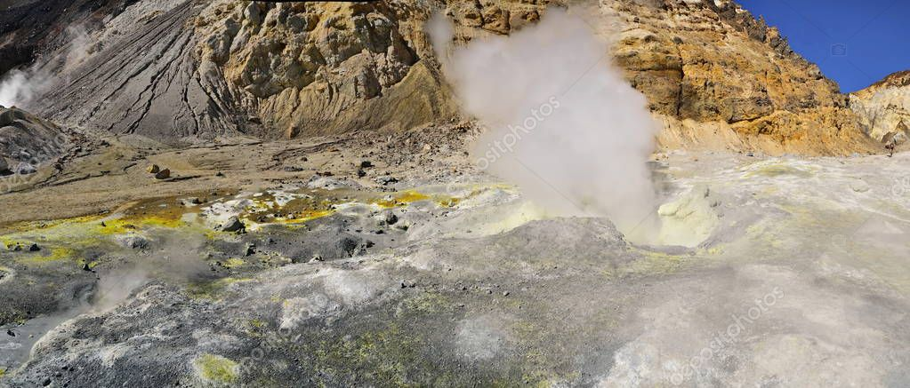 Russia. The Kamchatka Peninsula. Volcano